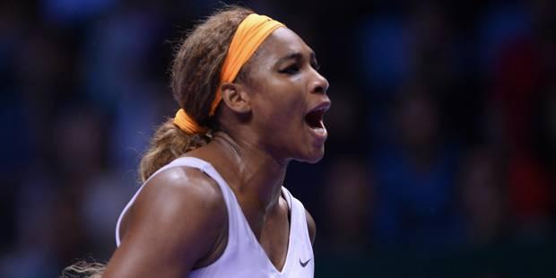 Serena Williams conserve son titre au Masters féminin - La Libre