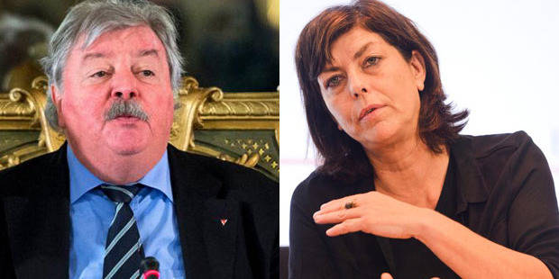 Démission de Freddy Thielemans: Milquet dénonce une pression du PS - La Libre