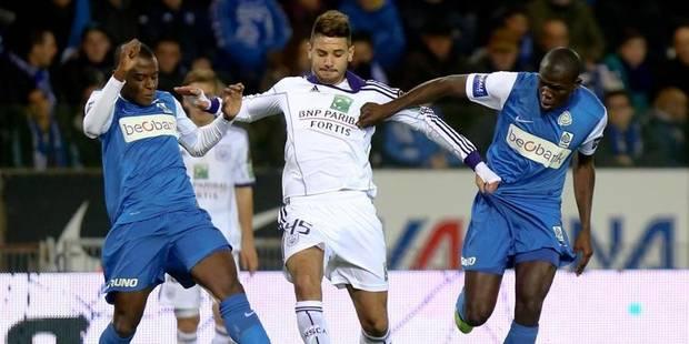Genk rate le coche, Anderlecht assure (0-1) - La Libre