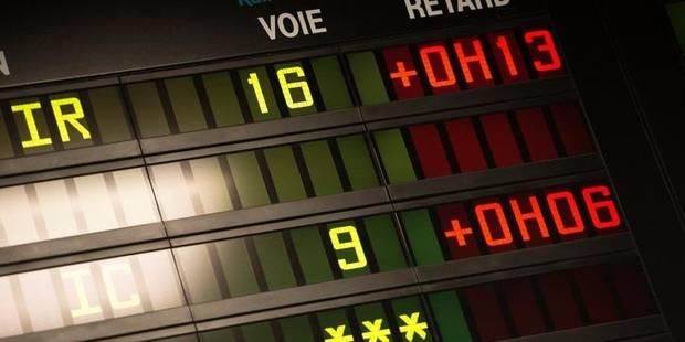 SNCB: la ponctualité des trains dans une situation encore pire qu'imaginée - La Libre
