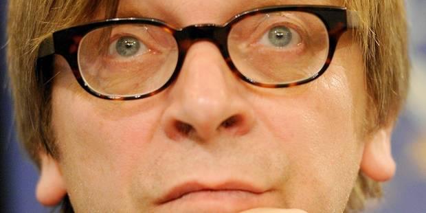 Verhofstadt en lice pour la présidence de la Commission - La Libre