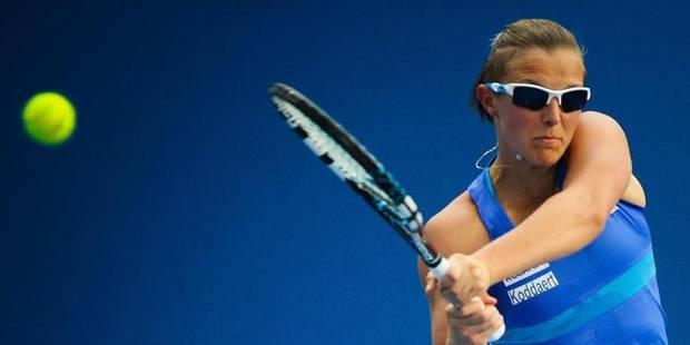 Kirsten Flipkens forfait pour la Fed Cup à Budapest - La Libre