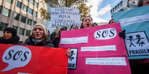 La CGSP suspend la grève dans les SAJ-SPJ - La Libre
