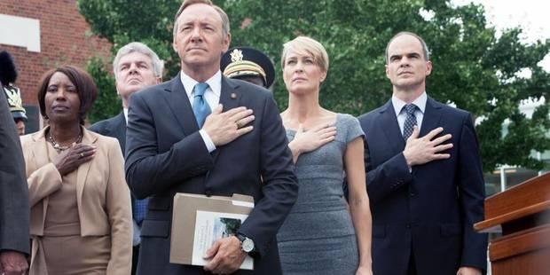 House of Cards renouvelé pour une troisième saison - La Libre