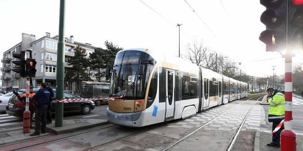 Un joggeur percuté par un tram à Schaerbeek - La Libre