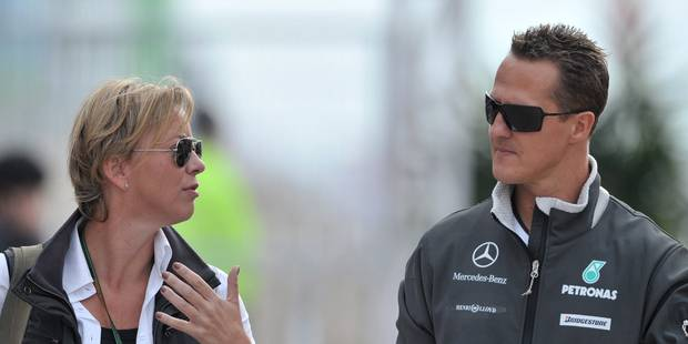 """Schumacher: sa famille """"continue de croire très fortement"""" à sa guérison - La Libre"""