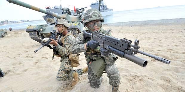 La détente à l'épreuve des exercices militaires USA-Corée du Sud - La Libre