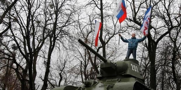 Ukraine: le Parlement de Crimée fixe au 25 mai un référendum pour plus d'autonomie - La Libre