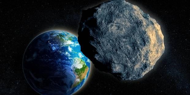 Un astéroïde passera tout près de la Terre ce mercredi - La Libre