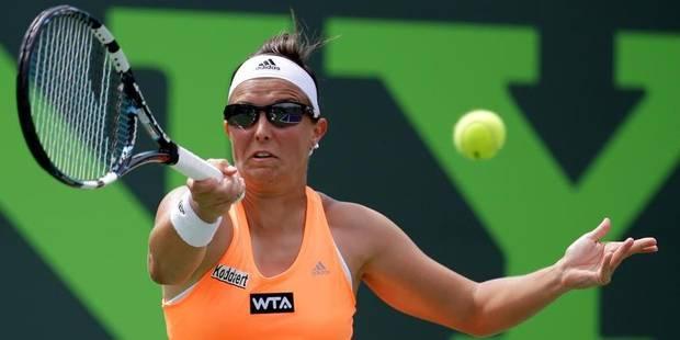 Kirsten Flipkens éliminée en 8es de finale à Miami - La Libre