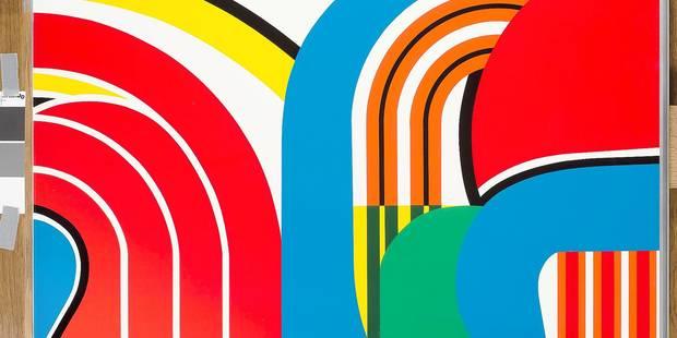 Place à la couleur construite de Jean Dewasne - La Libre