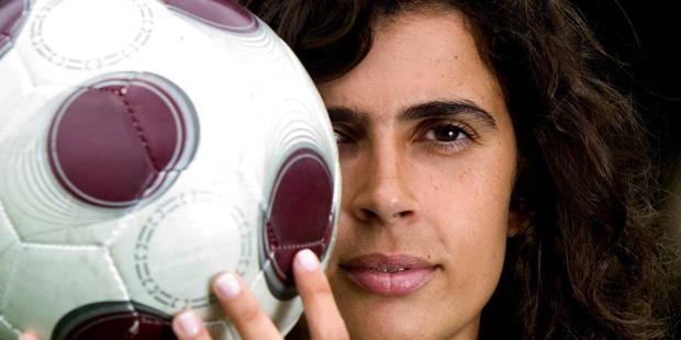 Helena Costa, première femme entraîneur d'un club de foot pro en France - La Libre