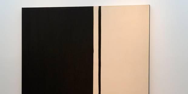 84 millions de dollars pour une oeuvre de Barnett Newman - La Libre