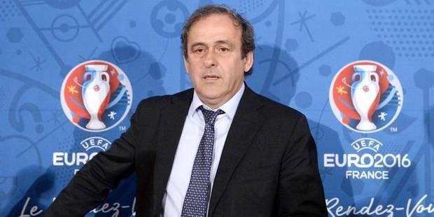 """Platini: """"Le professionnalisme de Jean-Luc Dehaene manque déjà à l'UEFA"""" - La Libre"""