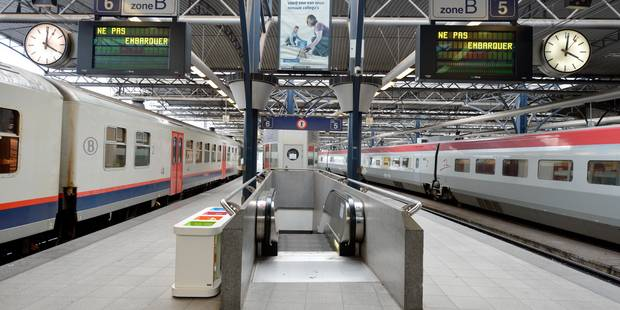 Alerte à la bombe dans un train Gare du Midi - La Libre