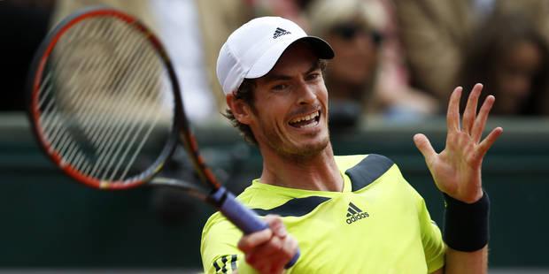 Roland-Garros: Andy Murray en quarts aux dépens de Fernando Verdasco - La Libre
