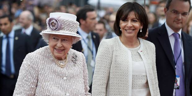 La reine Elizabeth II hôte de la ville de Paris - La Libre