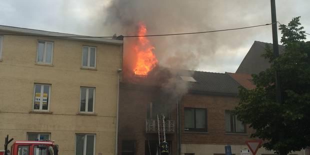 Important incendie à Rhode-Saint-Genèse - La Libre