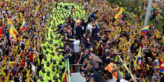 Colombie: après le Mondial, les supporters paient leurs dettes - La Libre