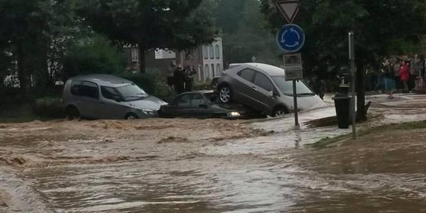 Ittre et Clabecq touchés de plein fouet par les pluies (PHOTOS) - La Libre