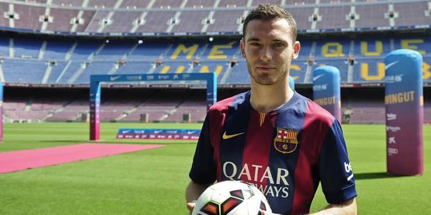 """""""Ce n'est pas un transfert qui fait rêver"""": Vermaelen froidement accueilli à Barcelone - La Libre"""