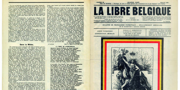 "La presse de guerre à portée d'un ""clic"" - La Libre"