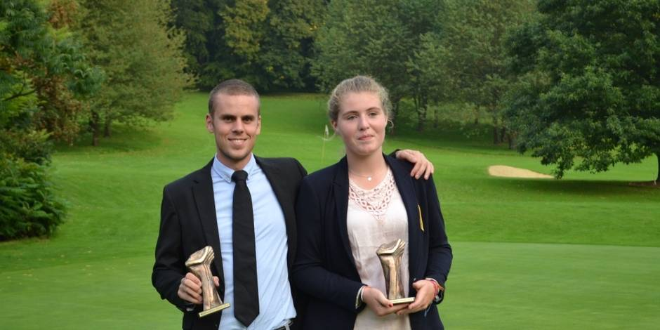 Golf: Rutger Dhondt et Clarisse Louis champions des champions - La Libre