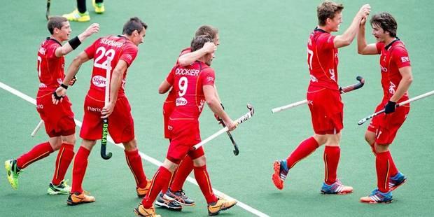 Hockey: les Red Lions croquent la France en amical - La Libre