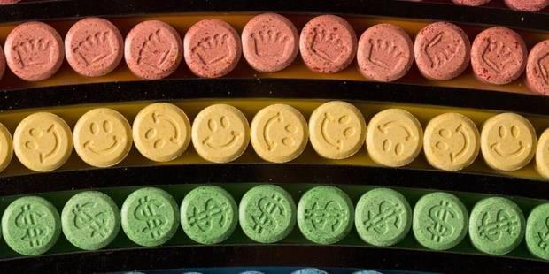 La plupart des pilules d'ecstasy en circulation en Belgique sont surdosées - La Libre