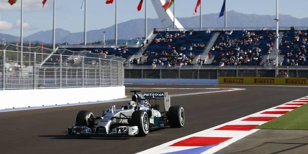 Hamilton survole le GP de Russie - La Libre