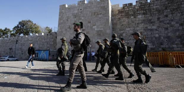 Heurts à Jérusalem pour les funérailles d'un Palestinien accusé d'attentat - La Libre