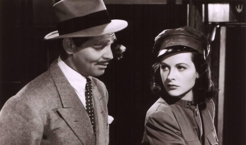 La moustache minimaliste de Clark Gable est devenue une référence