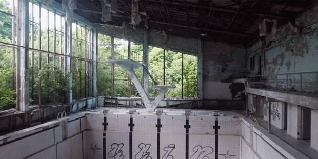 Tchernobyl 28 ans après: les images stupéfiantes d'un drone - La Libre