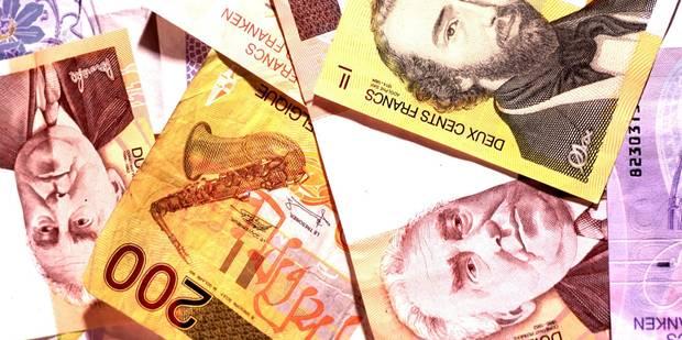 Près de 73.000 billets de francs belges échangés en 2014 - La Libre