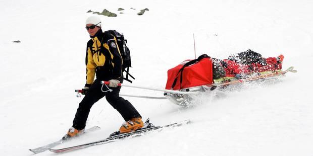Le nombre d'accidents sur les pistes de ski en hausse de 35% - La Libre