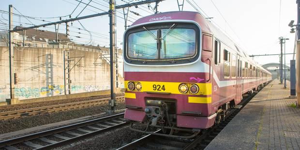 Le trafic des trains interrompu le week-end sur la ligne Namur-Luxembourg pour un chantier - La Libre