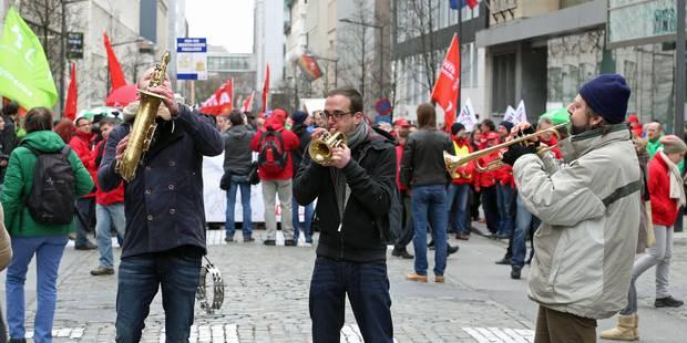 Manifestation syndicale à Bruxelles : retards et perturbations attendus à l'heure de pointe - La Libre