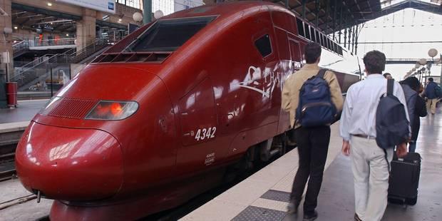 Grève: les trains Thalys perturbés mardi et surtout mercredi - La Libre