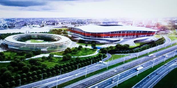 Une station de métro près du futur stade national - La Libre