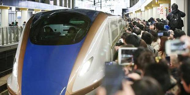 Nouveau record de vitesse pour un train! (Vidéo) - La Libre