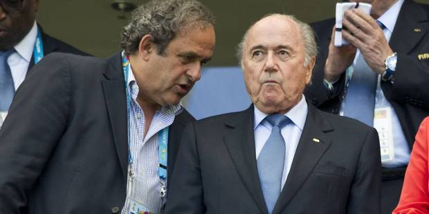 Platini demande la démission de Sepp Blatter... qui refuse - La Libre