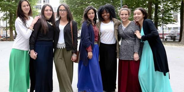 Institut De Mot-Couvreur : interdites d'école car elles portent une robe - La Libre