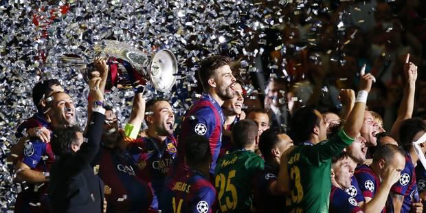 Ligue des champions: le Barça dans la légende (1-3) - La Libre