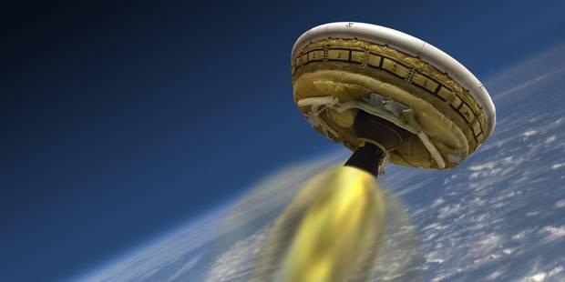 La Nasa échoue à déployer complètement son parachute supersonique géant - La Libre