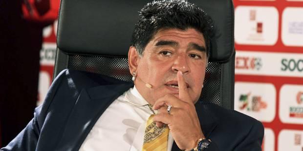 """Maradona: """"Platini devra s'expliquer sur les 187 matches qu'il a arrangés"""" - La Libre"""
