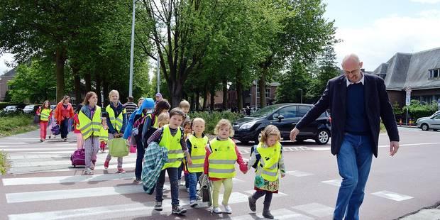 Le pédibus: une sortie d'école en douceur - La Libre
