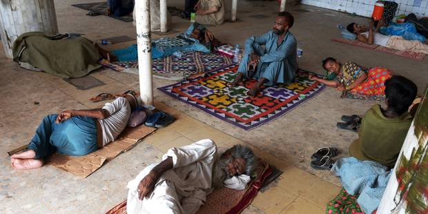 Pakistan: la canicule a fait plus de 1.000 morts - La Libre