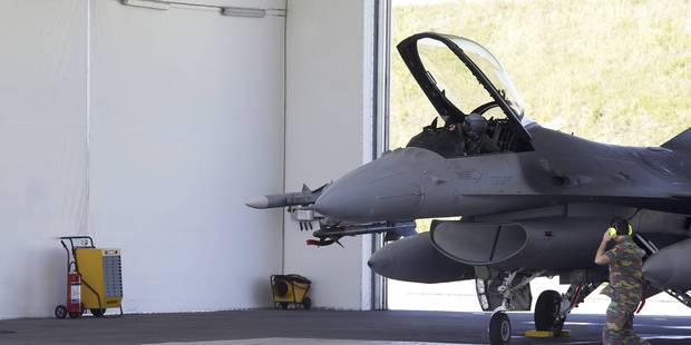 Etat islamique : fin de mission pour les F-16 belges - La Libre