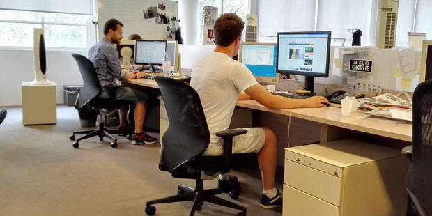 Chaleur au bureau : peut-on arrêter de travailler ou venir en short ? - La Libre