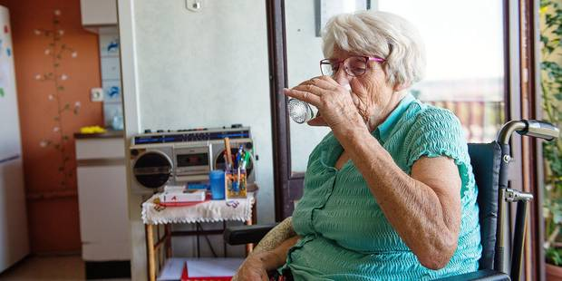Anderlecht: au secours des seniors déshydratés - La Libre